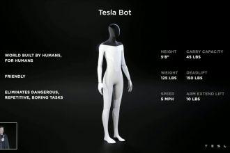 AI Day: Elon Musk unveils 'friendly' humanoid robot Tesla Bot